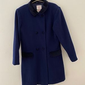 LAURA ASHLEY Double Breasted Wool Coat